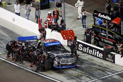 Ben Rhodes, ThorSport Racing Toyota, pit stop