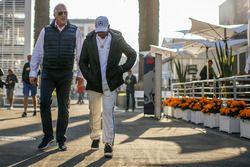 Lawrence Stroll, Lewis Hamilton, Mercedes AMG F1