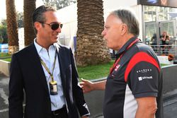 Carlos Slim Jr., Gene Haas, Fundador y Presidente, Haas F1 Team