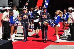 Daniil Kvyat, Scuderia Toro Rosso and Brendon Hartley, Scuderia Toro Rosso