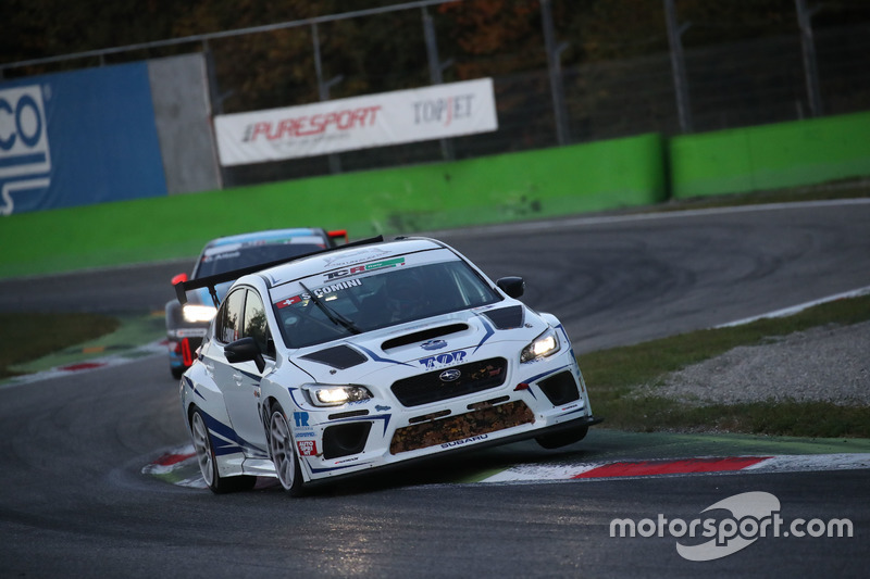 Stefano Comini, Top Run Motorsport, Subaru STI TCR