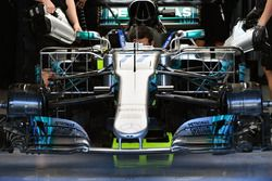 Mercedes-Benz F1 W08 with aero sensors