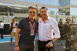 Eric Boullier, Racing Director, McLaren, TV Chef Gordon Ramsey