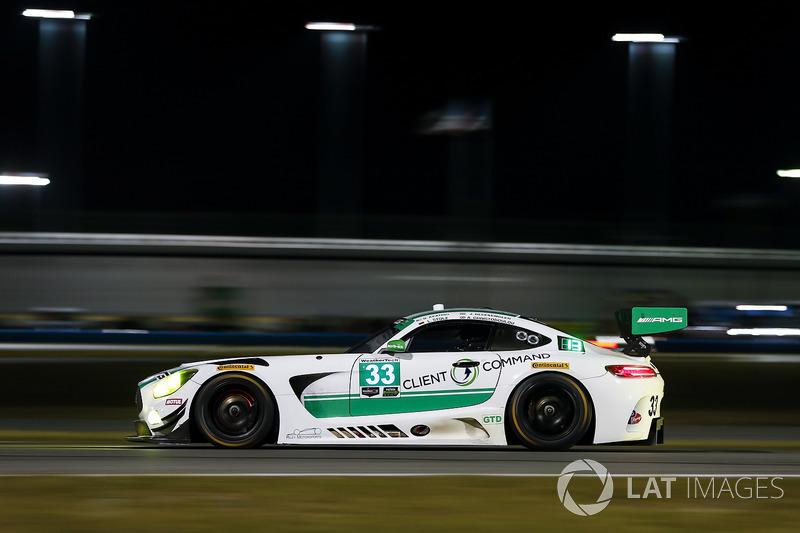 #33 Riley Motorsports Mercedes AMG GT3, GTD: Jeroen Bleekemolen, Ben Keating, Adam Christodoulou, Luca Stolz
