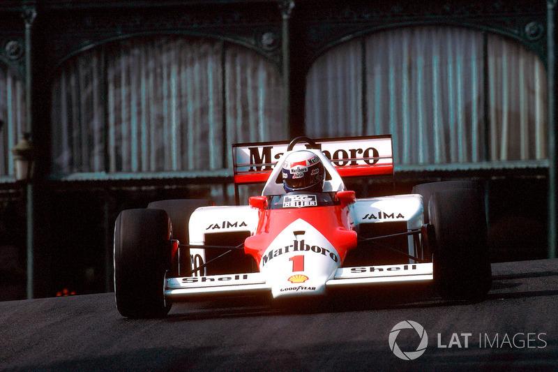 Alain Prost - 4 victorias (1984, 1985, 1986 y 1988)