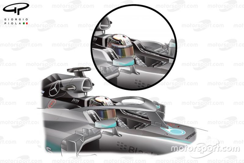 مقترح السلامة لسيارة مرسيدس