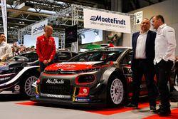 Le team Citroen WRC, avec Yves Matton et Paul Nagle