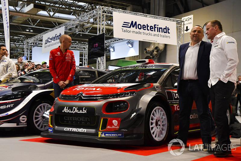 La Citroën C3 WRC 2018 avec Paul Nagle et Yves Matton