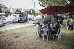 Peugeot Sport in het bivak