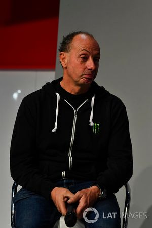 Stunt driver Terry Grant talks to Henry Hope-Frost on the Autosport Stage