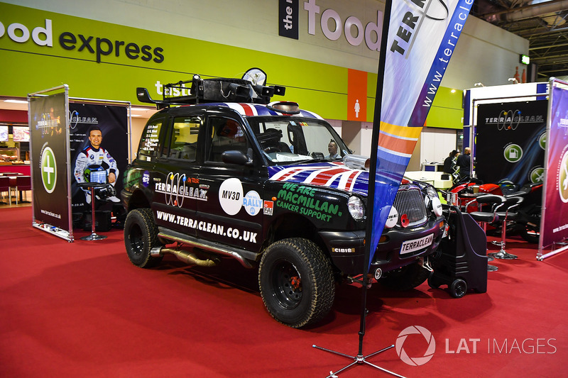 The Terraclean stand
