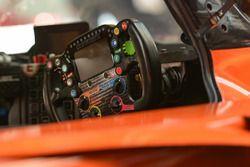 Ligier LMP2 detalle del volante