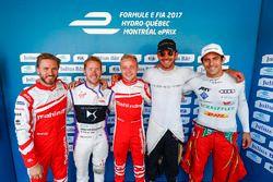 Nick Heidfeld, Mahindra Racing, Sam Bird, DS Virgin Racing, Felix Rosenqvist, Mahindra Racing, Jean-