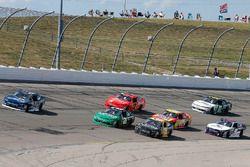 Brennan Poole, Chip Ganassi Racing Chevrolet, Daniel Hemric, Richard Childress Racing Chevrolet, Brian Scott, Daniel Defense Chevrolet Camaro