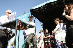 Nelson Piquet Jr., NEXTEV TCR Formula E Team, at the Qualifying Lottery