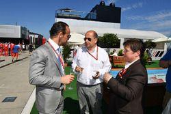 Alex Molina, Allsport Management, Luca Colajanni, Formula One Oficial superior de comunicaciones y K