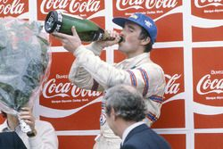 Podio: tercer lugar Nigel Mansell, Lotus 81B