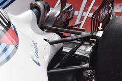 Williams FW40: Hinterradaufhängung