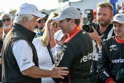 Roger Penske, Team Penske owner, Will Power, Team Penske Chevrolet, Elizabeth Power, Beau Power, cel