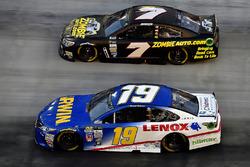 Daniel Suárez, Joe Gibbs Racing Toyota, JJ Yeley, Tommy Baldwin Racing, Chevrolet SS