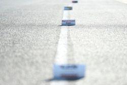 Pitlanemarkering voor motorwissels