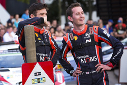 Hayden Paddon, Sebastian Marshall, Hyundai Motorsport