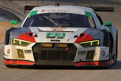 #23 Alex Job Racing Audi R8 LMS GT3: Bill Sweedler, Townswend Bell, Frankie Montecalvo