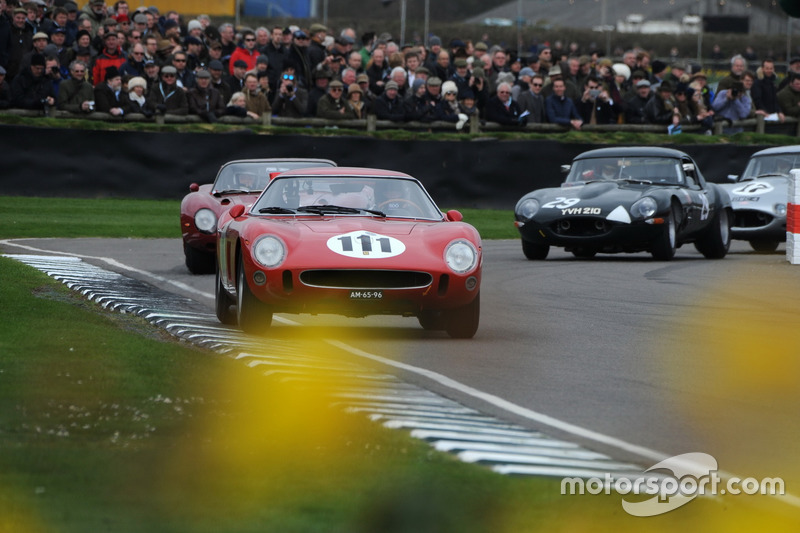 Graham Hill Trophy, Niki Pastorelli, Cottingham Ferrari