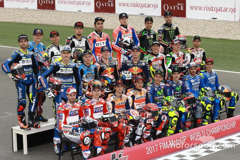 Line-up pembalap MotoGP 2017