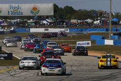 Continental Tire SportsCar Challenge, Start