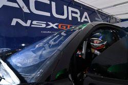 #86 Michael Shank Racing Acura NSX: Oswaldo Negri Jr.
