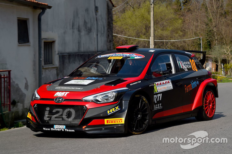 Elwis Chentre, Fulvio Florean, Hyundai i20 R5, New Driver's Team