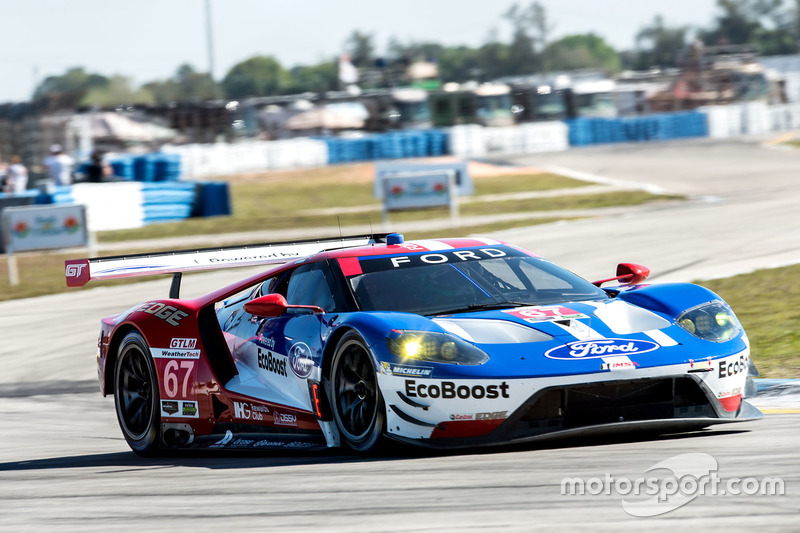 1. GTLM: #67 Ford Performance Chip Ganassi Racing, Ford GT