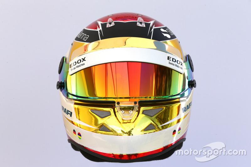 Helm von Pascal Wehrlein, Sauber