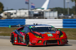 #48 Paul Miller Racing Lamborghini Huracan GT3: Madison Snow, Bryan Sellers, Dion von Moltke