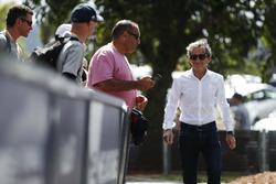 Alain Prost sur l'Albert Park
