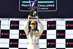 Podium: le vainqueur Nico Jamin, ANSA Motorsports