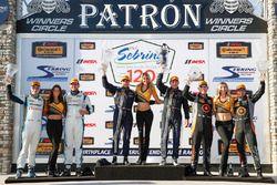 Podium GS : winners #60 KohR Motorsports Ford Mustang: Jade Budford, Scott Maxwell, second place #69 Motorsports In Action McLaren GT4: Jesse Lazare, Chris Green, third place #77 Compass360 Racing McLaren GT4: Matthew Keegan, Nico Rondet