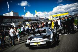 L'auto di Gary Paffett, Mercedes-AMG Team HWA, Mercedes-AMG C63 DTM