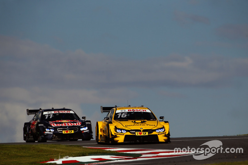 Тімо Глок, BMW Team RMG, BMW M4 DTM та Марко Віттман, BMW Team RMG, BMW M4 DTM