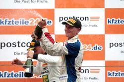 Podium: #77 Callaway Competition, Corvette C7 GT3-R: Renger van der Zande