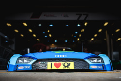 Il cofano dell'auto di Loic Duval, Audi Sport Team Phoenix, Audi RS 5 DTM