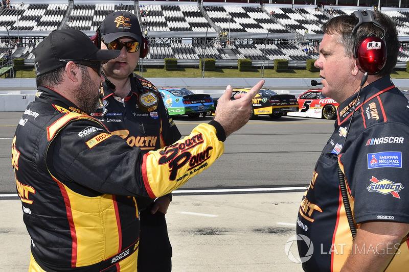 Brendan Gaughan, Richard Childress Racing Chevrolet, mit Shane Wilson