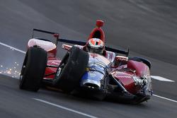 Alexander Rossi, Herta - Andretti Autosport Honda, choque