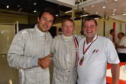 Simon Lazenby, Sky TV F1 Experiences 2-Seater passenger and Paul Stoddart