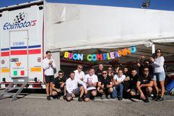 Il team Ebimotors festeggia il compleanno di Riccardo Pera