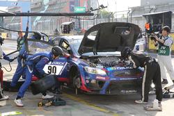 #90 Subaru Tecnica International, Subaru WRS STI: Carlo van Dam, Marcel Lassee, Tim Schrick, Hideki Yamauchi