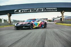 #50 Larbre Competition Chevrolet Corvette C7.R Human livery