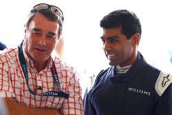 Nigel Mansell, Karun Chandhok