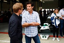 Mark Webber, to Nico Rosberg